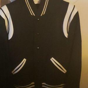 YSL varsity jacket
